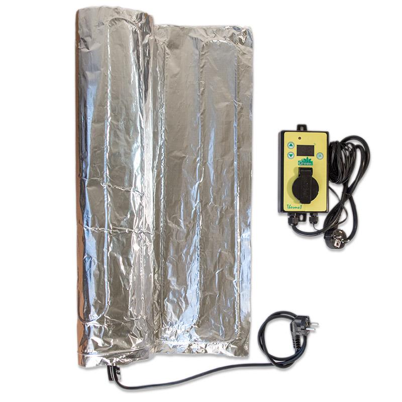 Undervärme Heat Mat 60 x 120-undervärmematta för odling av fröer och sticklingar