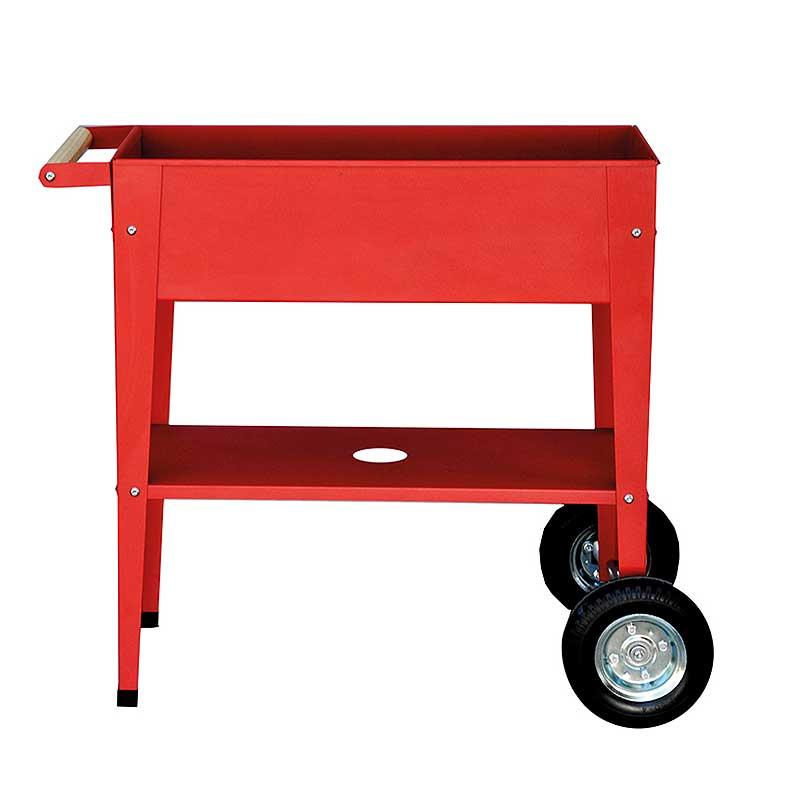 Odlingsvagn Urban Garden Trolley röd, för odling inne och ute