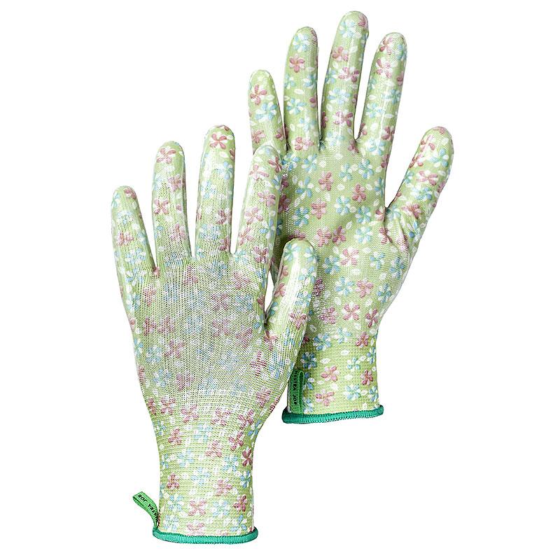 Trädgårdshandske Garden Dip, Pastellgrön, storl 8-Trädgårdshandske Garden Dip, Pastellgrön, storl 8