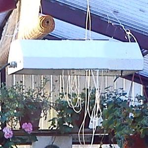 Växtbelysning för växthus och uterum, högtrycksnatriumlampa