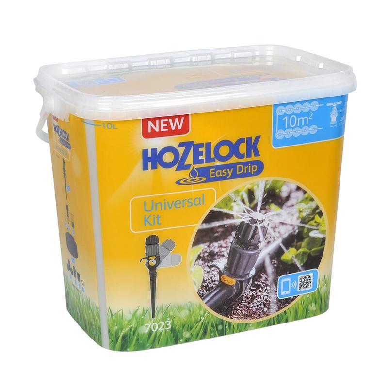 Bevattningsset till 13 mm slang-Komplett bevattningsset till ett bevattningsområde upp till 10m².