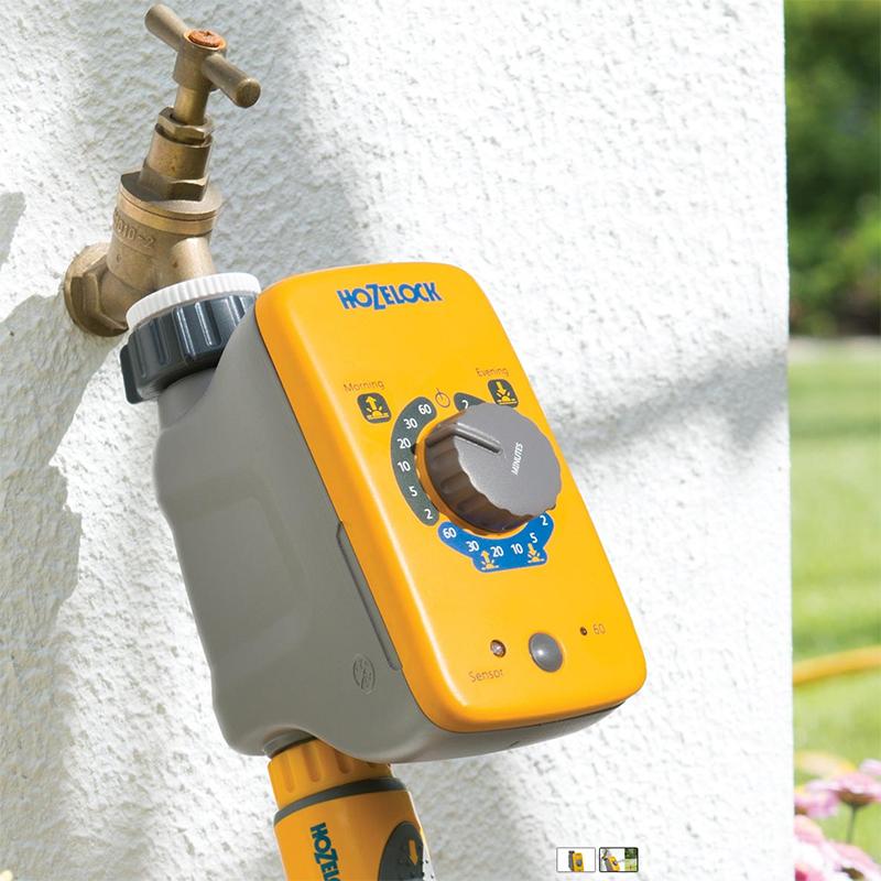 Bevattningskontroll med Sensor-Elektronisk bevattningskontroll med sensor.