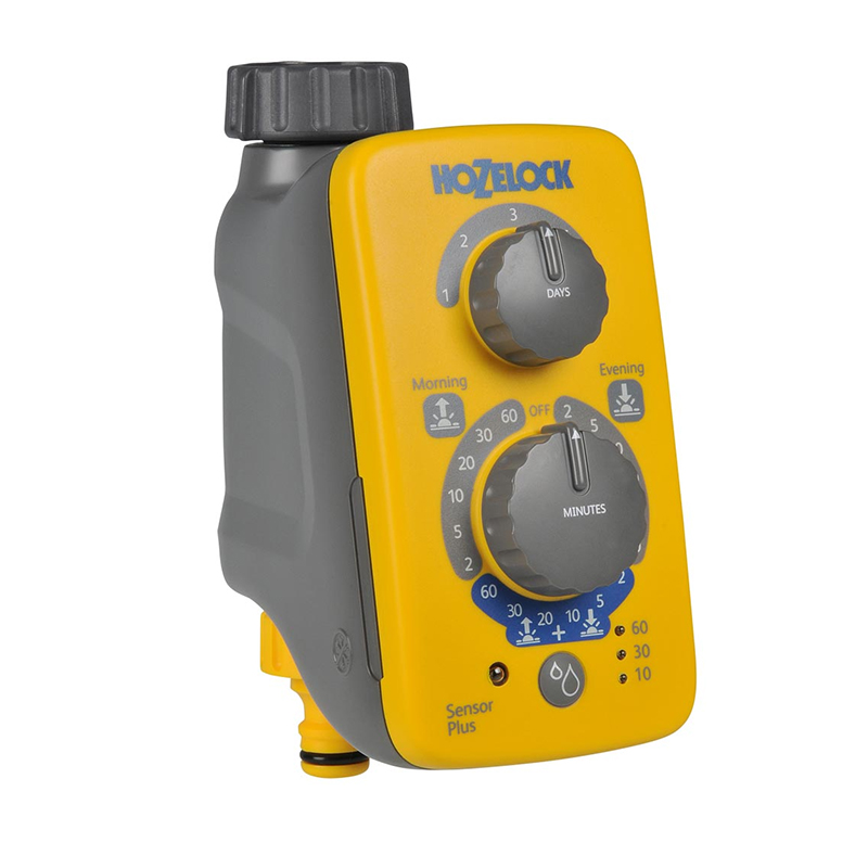 Sensor som automatiskt justerar bevattningsprogrammet.
