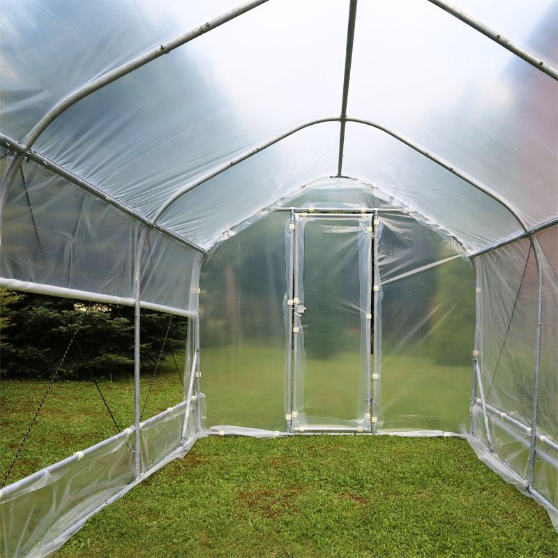 Odlingsväxthus DeLuxe. 12,5 kvm,