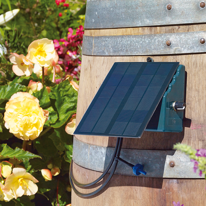 Irrigatia - solcellsdrivet bevattningssystem SOL-C24-Solcellsdrivet bevattningssystem