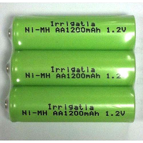 Batteripack till Irrigatia bevattningssystem, Batteripack uppladdningsbara till Irrigatia