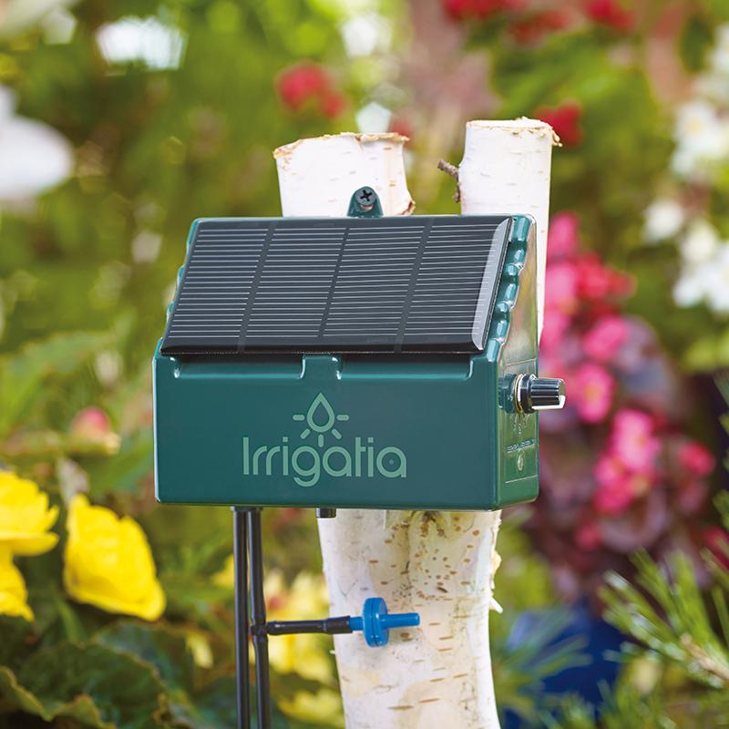 Solcellsdrivet bevattningssystem Irrigatia SOL-C12