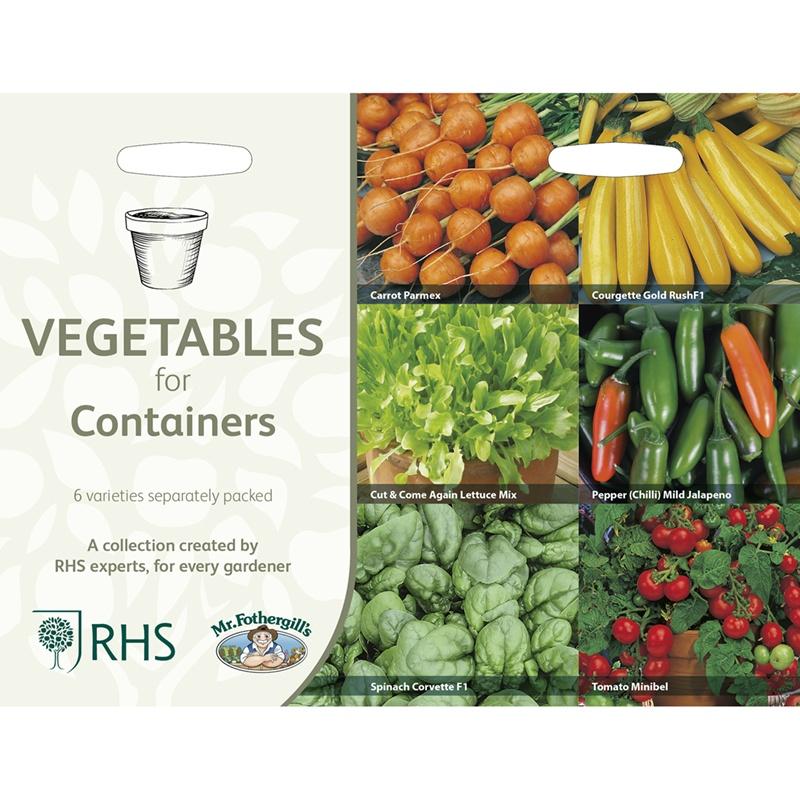 Frö till Köksväxter för krukodling 6 sorter
