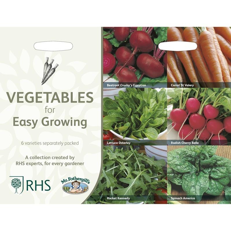 Frö till Lättodlade köksväxter 6 sorter