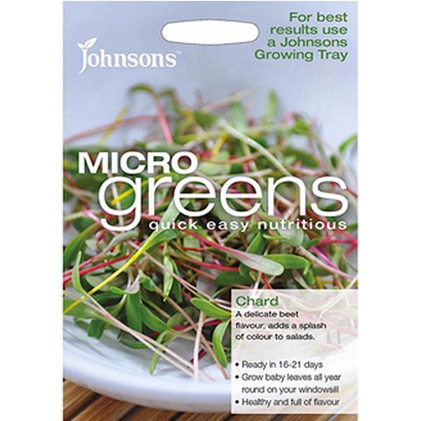 Frö till rädisa odlad som micro-sallad.
