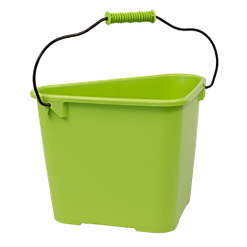 Hink Trican Fashion 17 L, lime-Ergonomisk trädgårdshink Trican 17 liter