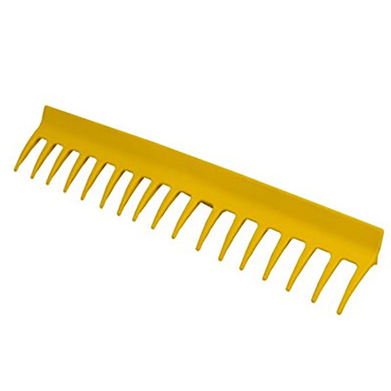 Trädgårdskratta ergonomisk, gul-Ergonomisk trädgårdskratta, gul