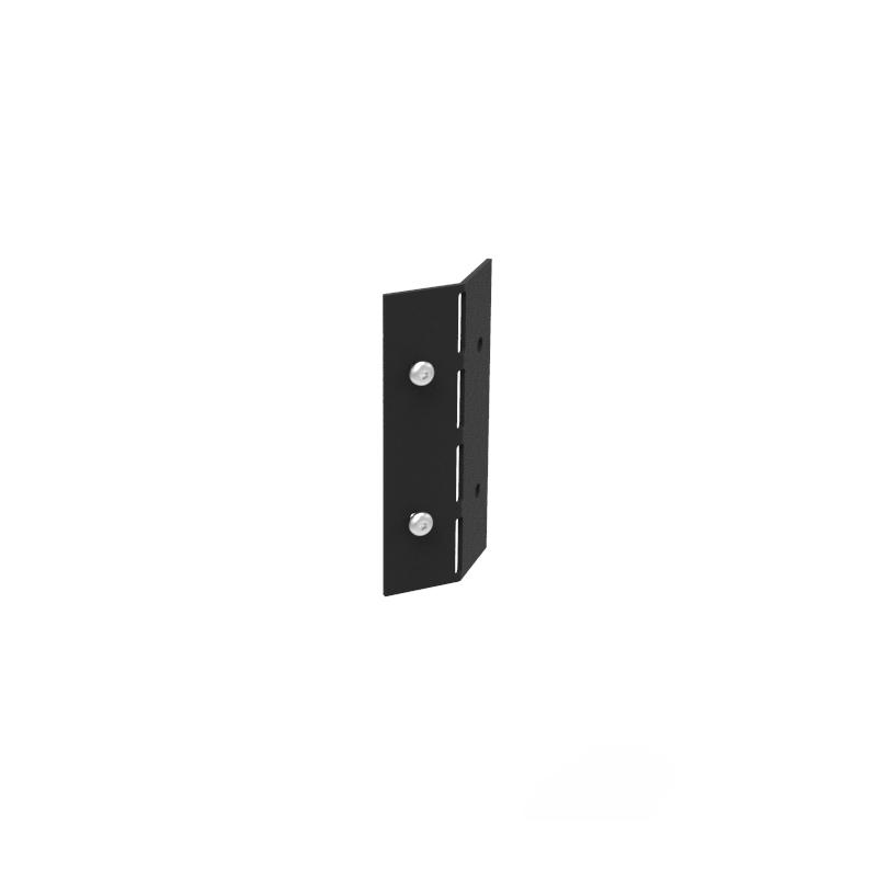 Planteringskant justerbart hörn i svart, 120 mm-Planteringskant i svart 120 mm hörn justerbart
