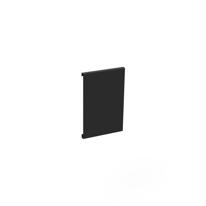 Planteringskant skarvplåt svart, 120 mm-Planteringskant i svart 120 mm skarvplåt
