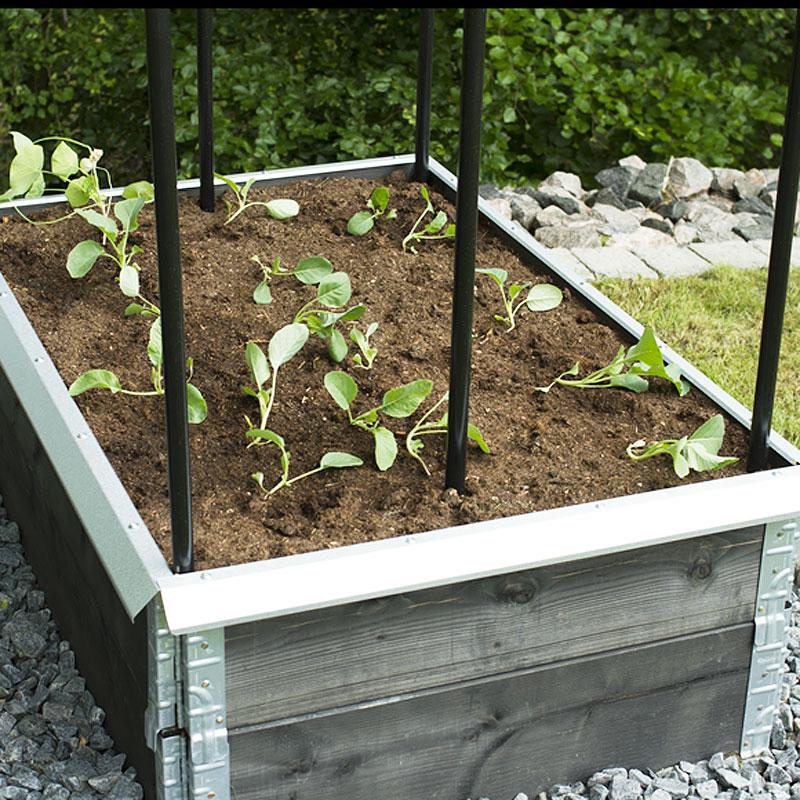 Snigelkant för odlingskrage, liten-Snigelskydd för pallkrage