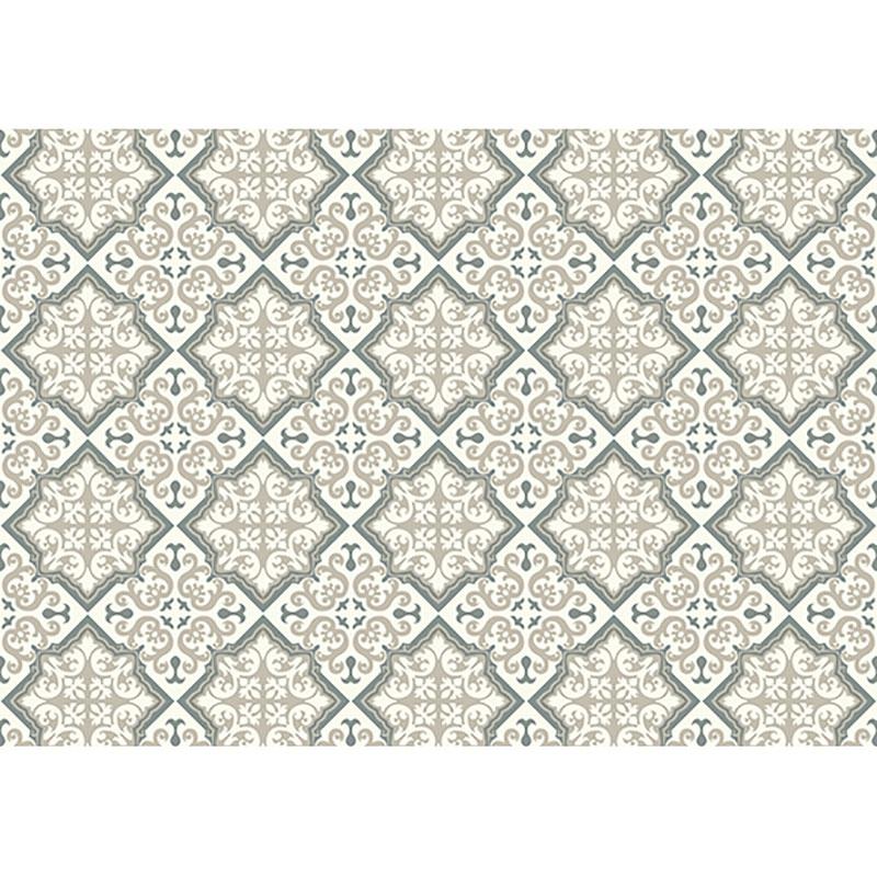Utomhusmatta med marockanskt sandfärgat mönster