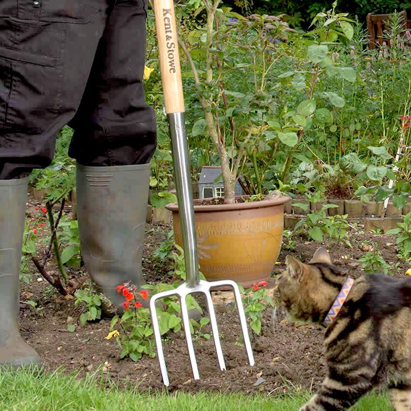 Grep för grävning i trädgården