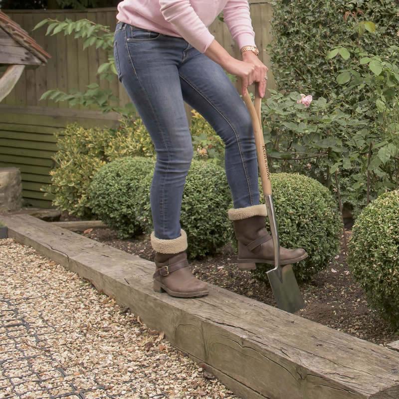 Lätt trädgårdsspade från Kent 6 Stowe