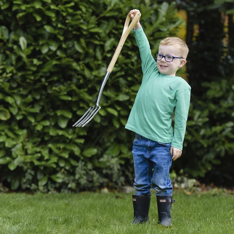 Barnredskap för trädgården, grep