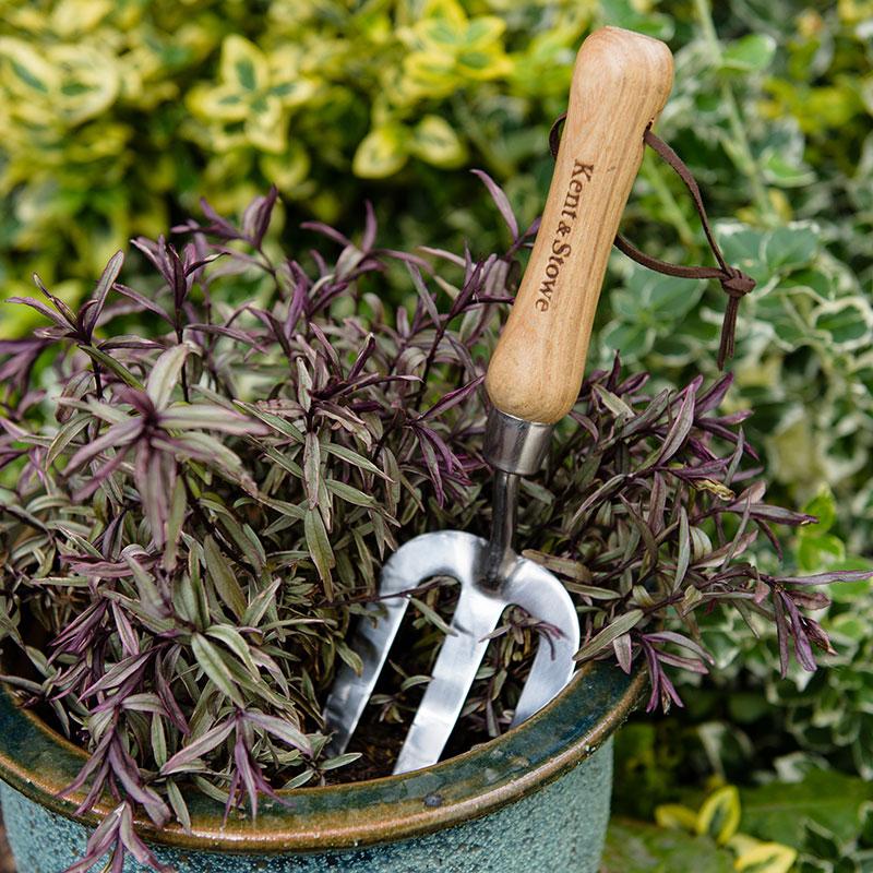 Plantergaffel för uppluckring