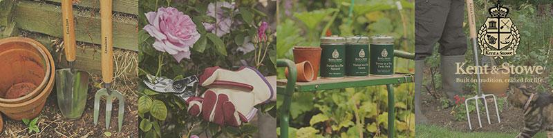trädgårdsredskap från Kent & Stowe