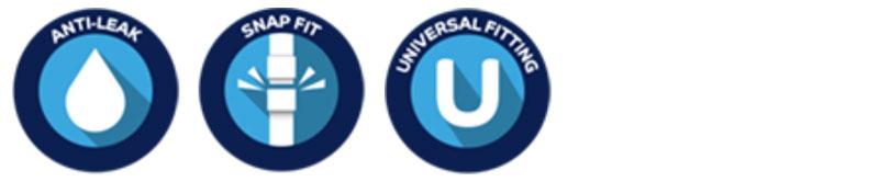 Kvalitetsmärkning flopro+ teleskopvattnare