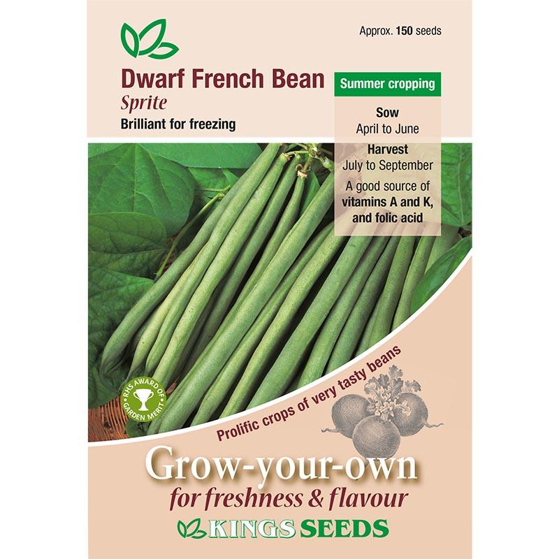 Fröpåse till Fransk dvärgböna' Sprite