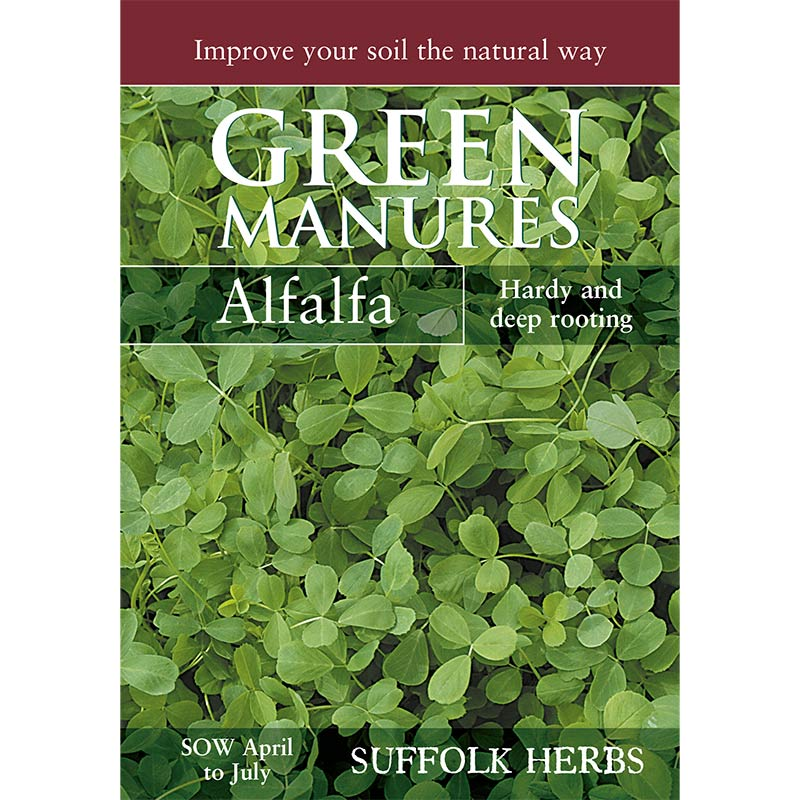Fröpåse till gröngödsel, Alfalfa