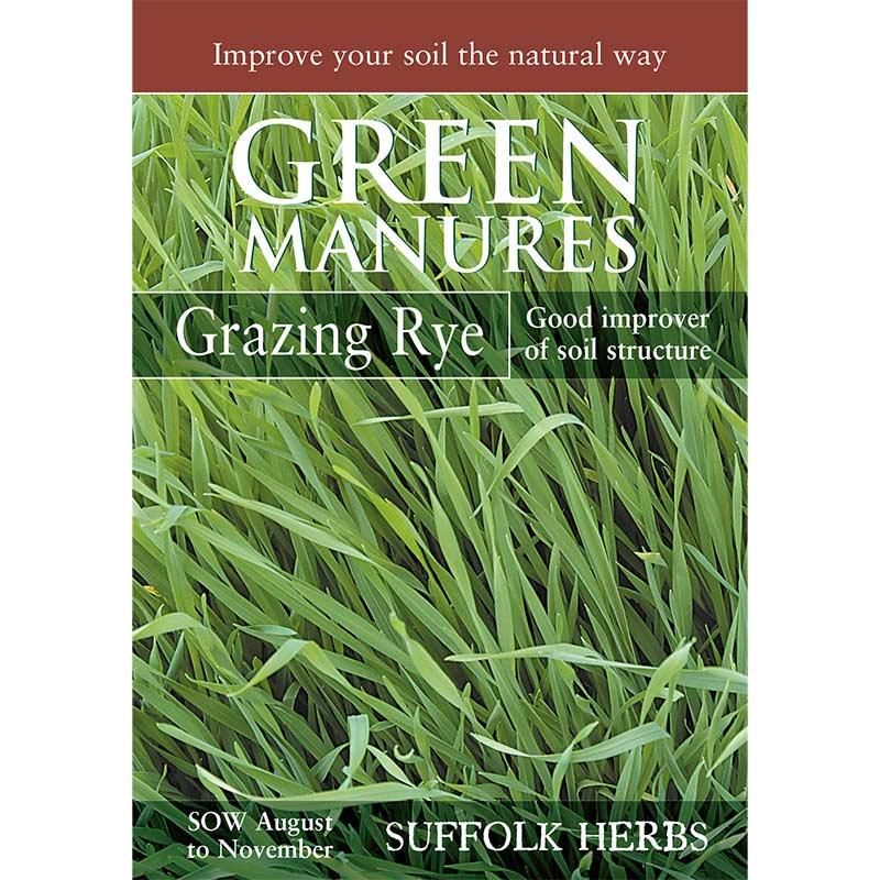 Fröpåse till gröngödsel' Råg/Grazing Rye