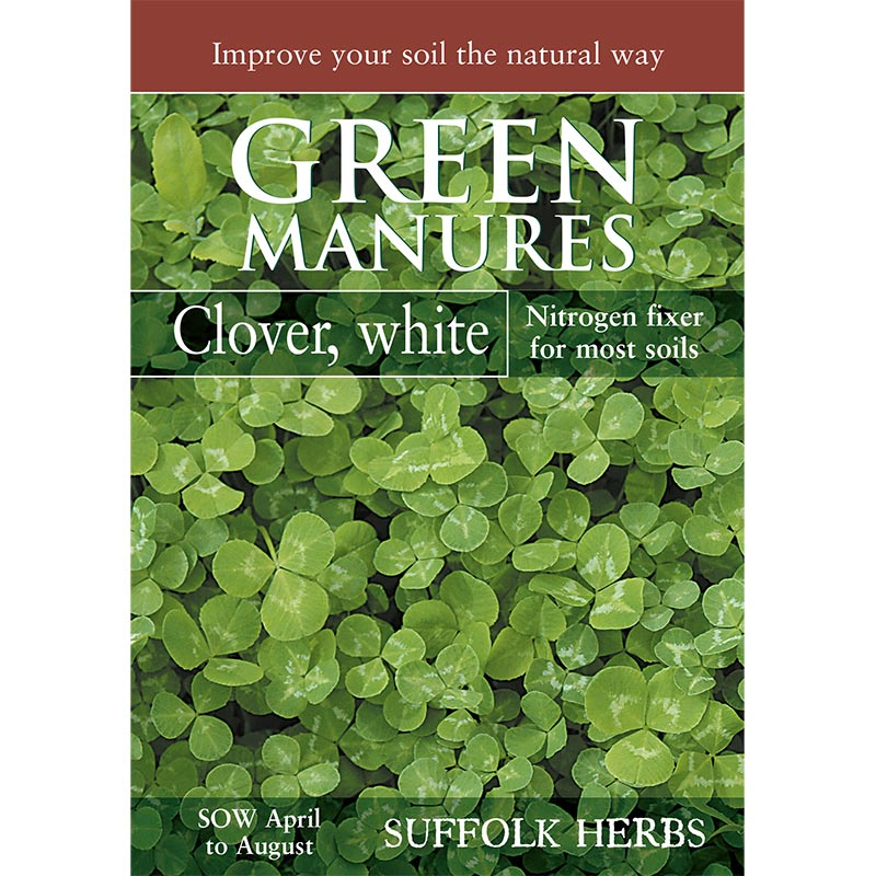 Fröpåse till gröngödsel - Vitklöver/White Clover