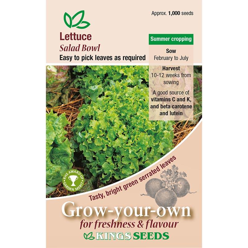 Fröpåse till Sallad, Salad Bown Green