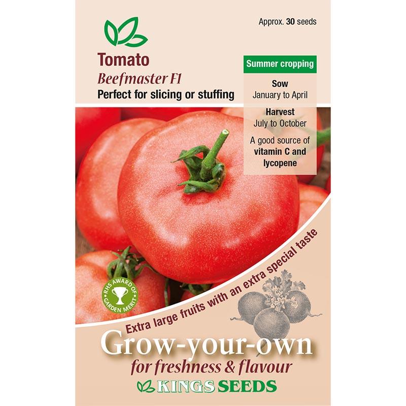 Tomat, Beefmaster F1, Fröpåse till Tomat, Beefmaster F1