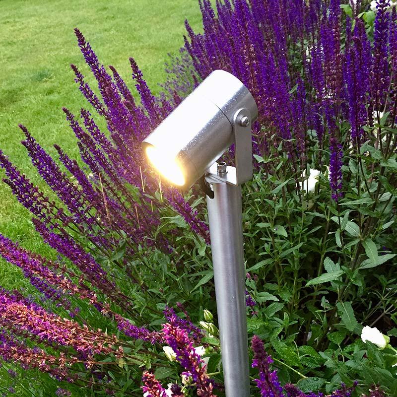 Trädgårdsbelysningsstolpe med förlängning 70 cm