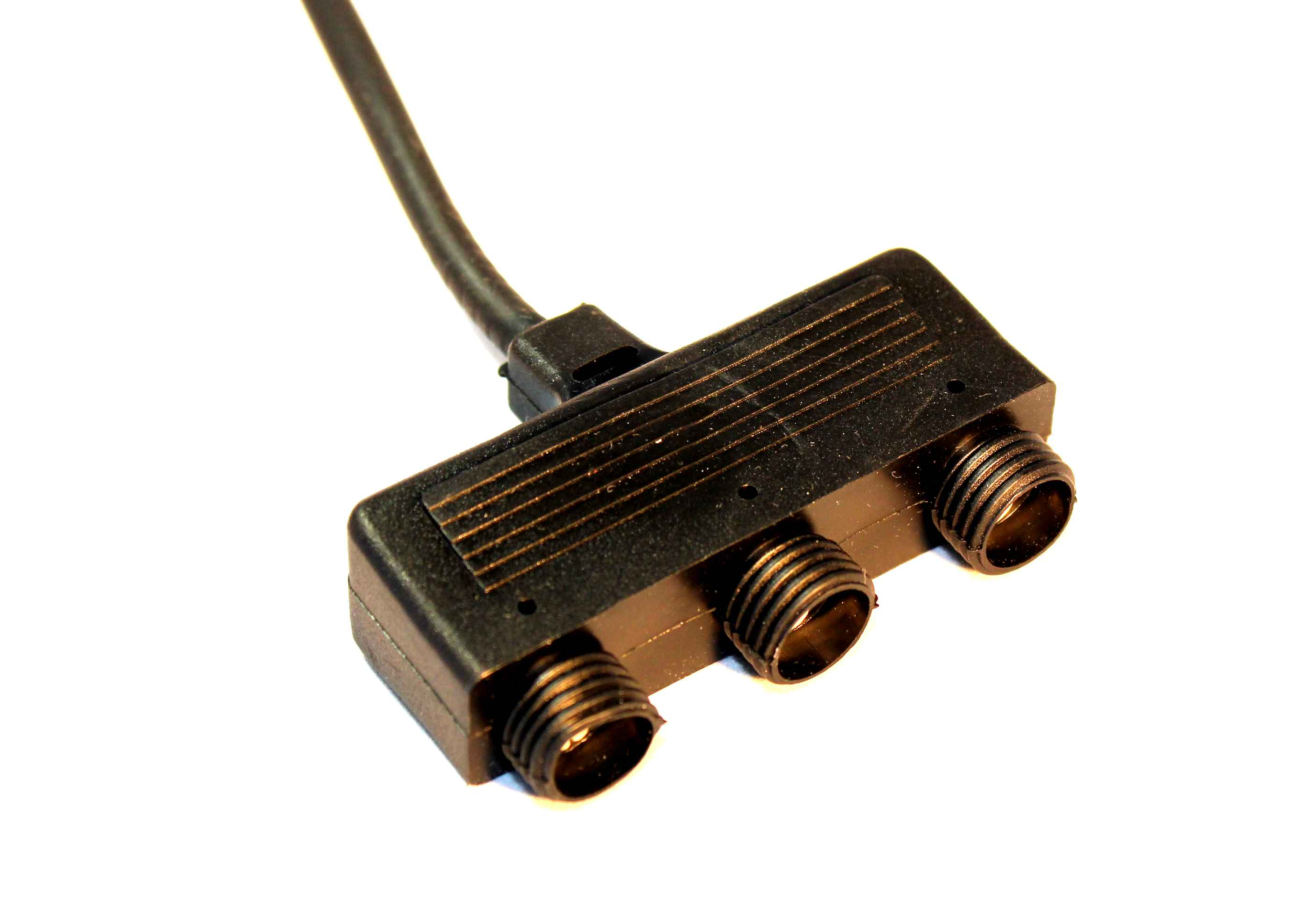 Grenkoppling - 3 uttag-Grenkoppling - LED Plug&Play