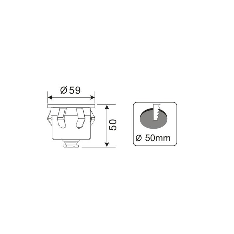 Måttspecifikationer till Terra LED