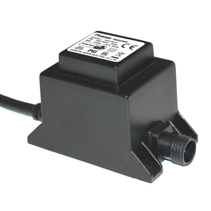 Transformator 60W - LED Garden Plug & Play-Transformator Plug & Play led trädgårdsbelyning