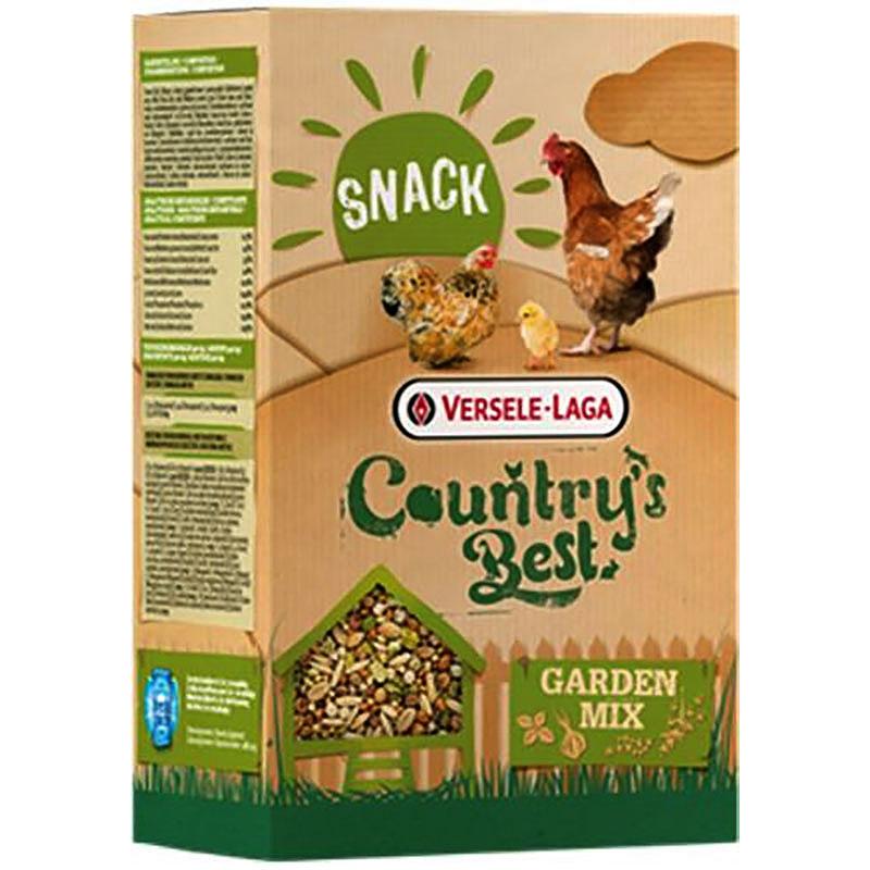 Country's Best Garden Mix, 1 kg-Kvalitetskornblandning för fjäderfä