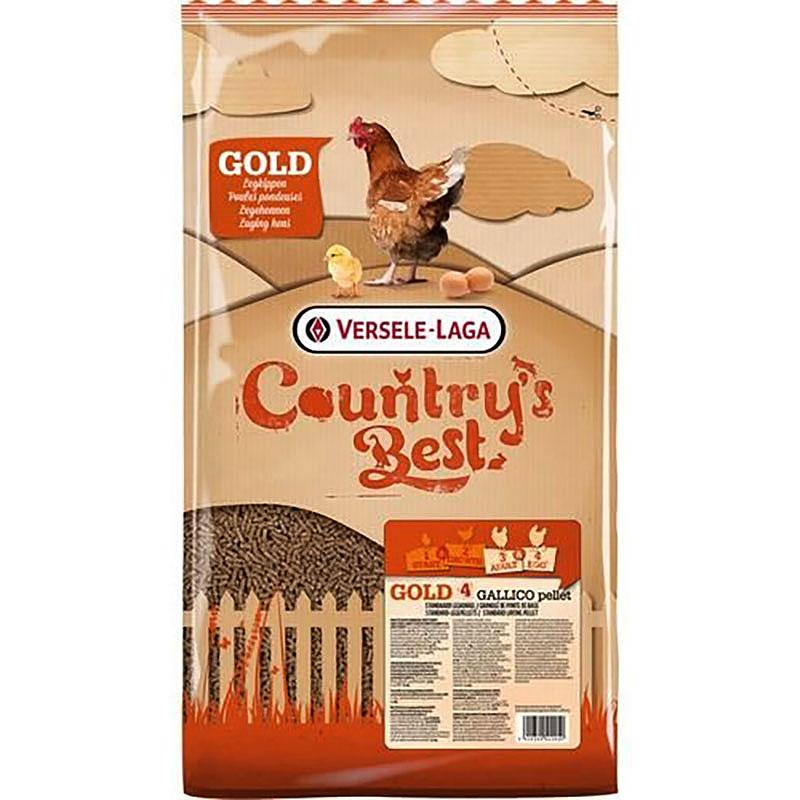 Gold 4 Fullfoder för höns, 20 kg, Hönsfoder, Gold 4 fullfoder för höns, 20 kg