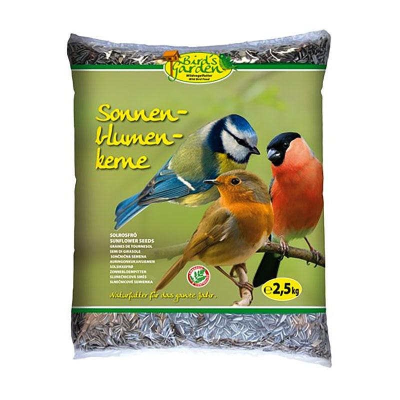 Solrosfrö för vildfåglar 2,5 kg-Solrosfrö för vildfåglar 2,5 kg