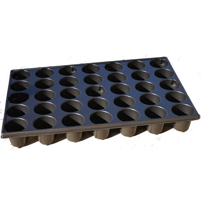 Pluggbrätte med 35 celler, Brätte i proffskvalitet med 35 celler för hydrokultur eller såjord