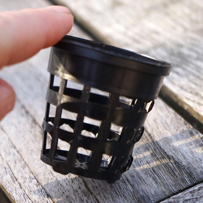Nätkruka 50 mm - 30-pack-Nätkrukor lämpliga för användning vid hydrokultur och odling av fröplantor