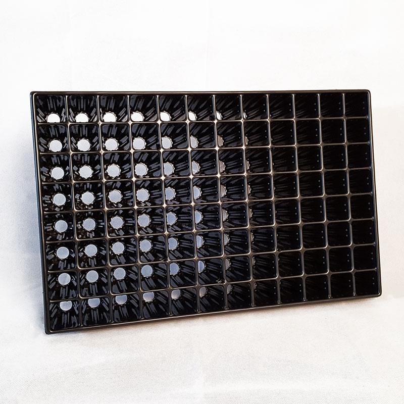 Pluggbrätte med 77 celler för frösådd och sticklingar