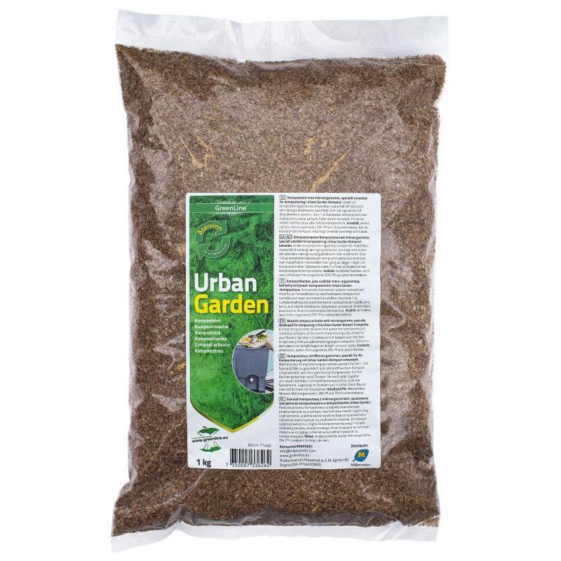 Kompostströ Urban Garden bokashikompostering
