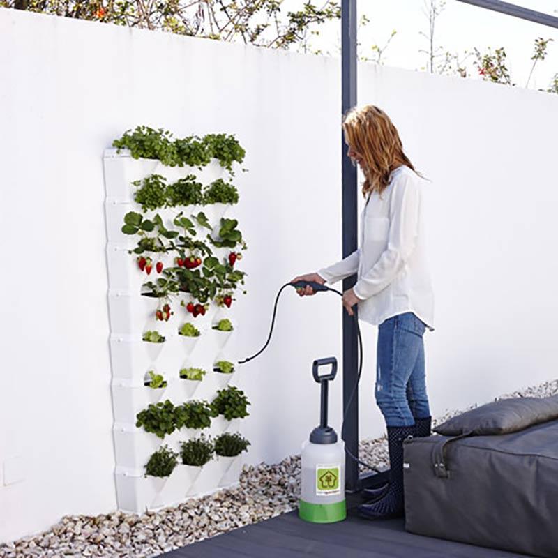 Vertikalodling till trädgården