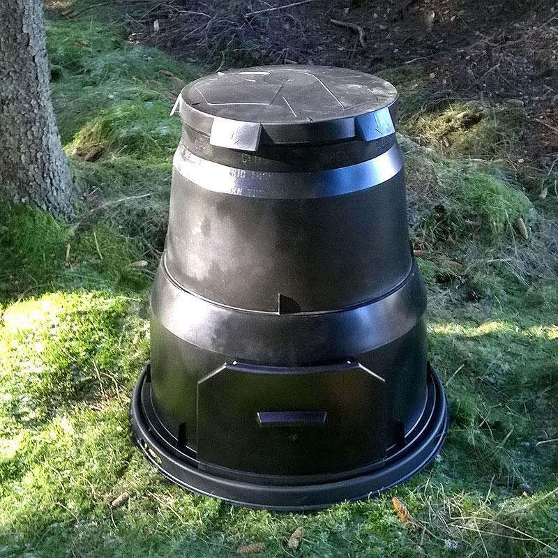 Kompostbehållare för trädgården