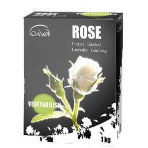 Organisk gödning till rosor
