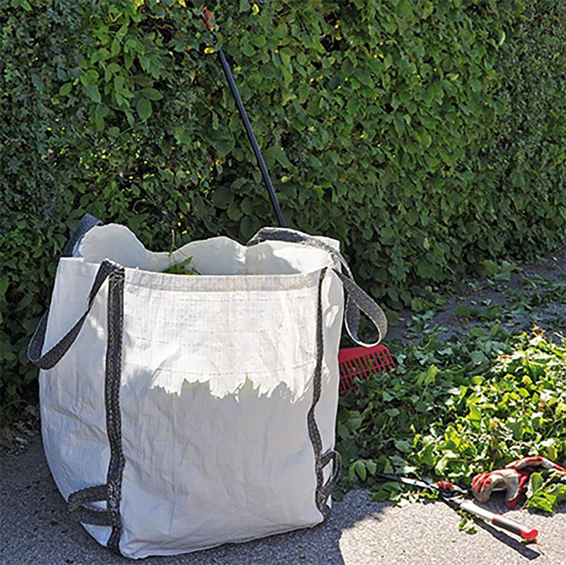 Trädgårdssäck för avfall, Avfallssäck för trädgården