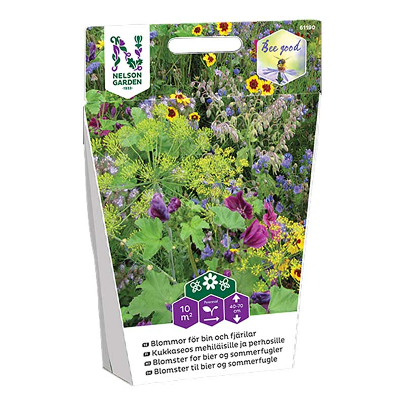 Frö till blommor för bin och fjärilar