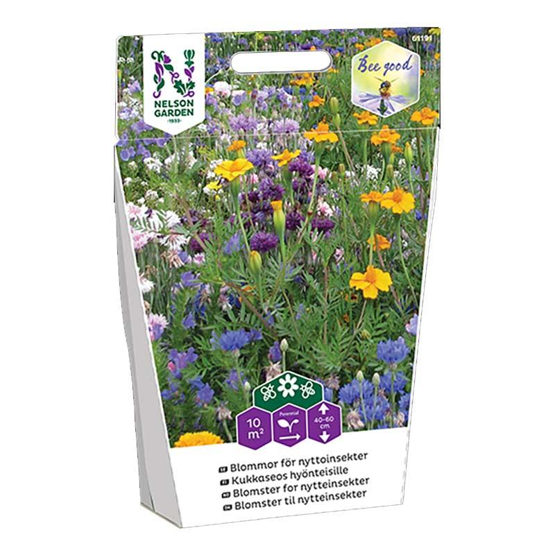 Frö till blommor för nyttoinsekter