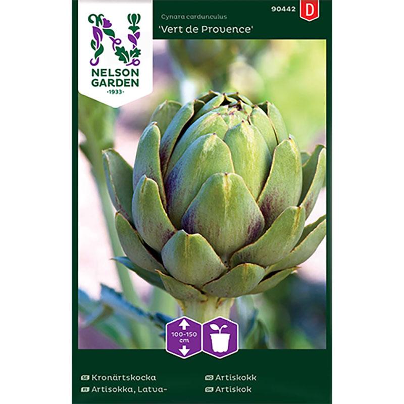 Frö till Kronärtskocka, Cynara cardunculus 'Vert de Provence'